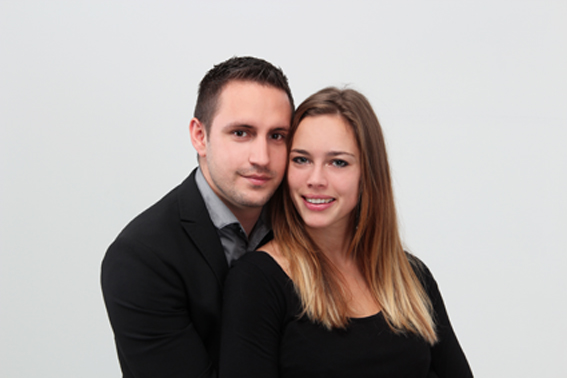 Shooting couple